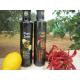 Confezione da 12 bottiglie di condimento al limone e peperoncino a base di Olio extravergine di Oliva da 0,25 Litri