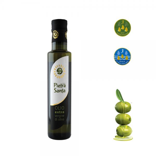 Olio extravergine di oliva - in bottiglia 0,25 Litro