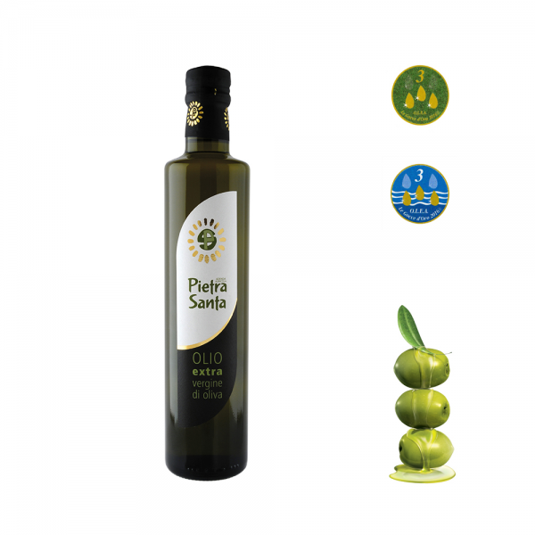 Natives Olivenöl Extra - 0,50 LiterFlasche