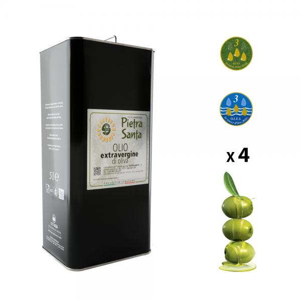 20 litre box - tinned extra virgin olive oil