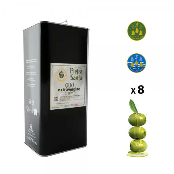 40 litre-Box - tinned extra virgin olive oil