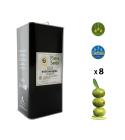 Paquet 40 Litres – Huile d'olive extra vierge en boîtes