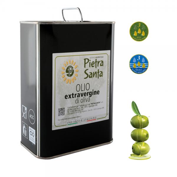 Olio extravergine di oliva - lattina 3 Litri