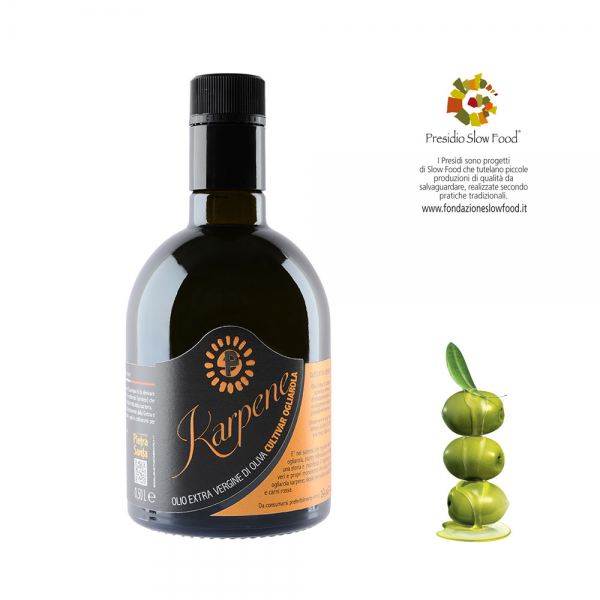 Ogliarola Karpene Extra Virgin Olive oil 0.5-Litre-bottle