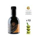 Confezione da 12 bottiglie di Olio Evo monocultivar di Ogliarola Karpene da 0,25 Litri