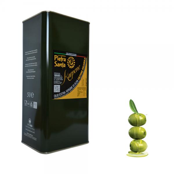 Olio extravergine di oliva ogliarola Karpene - lattina 5 Litri