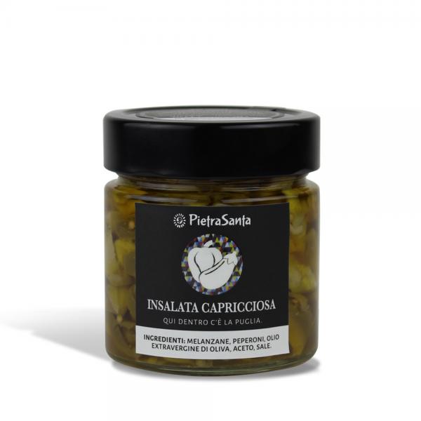 """Salat """"Capricciosa"""" in Olivenöl"""