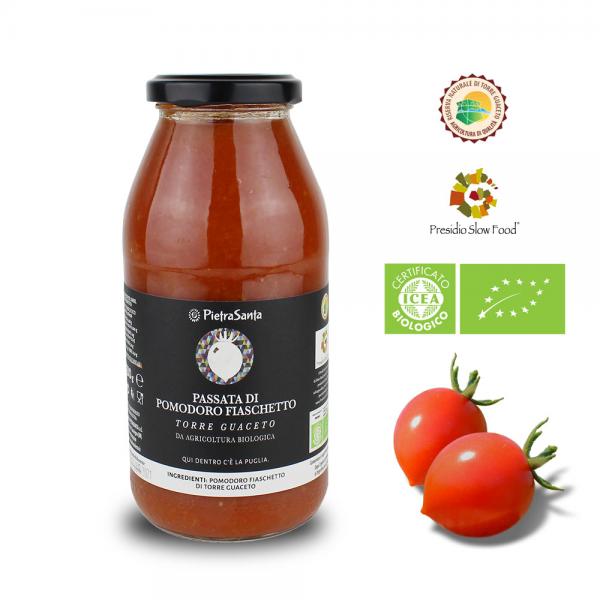 """Tomatensauce aus """"Fiaschetto"""" Tomaten"""