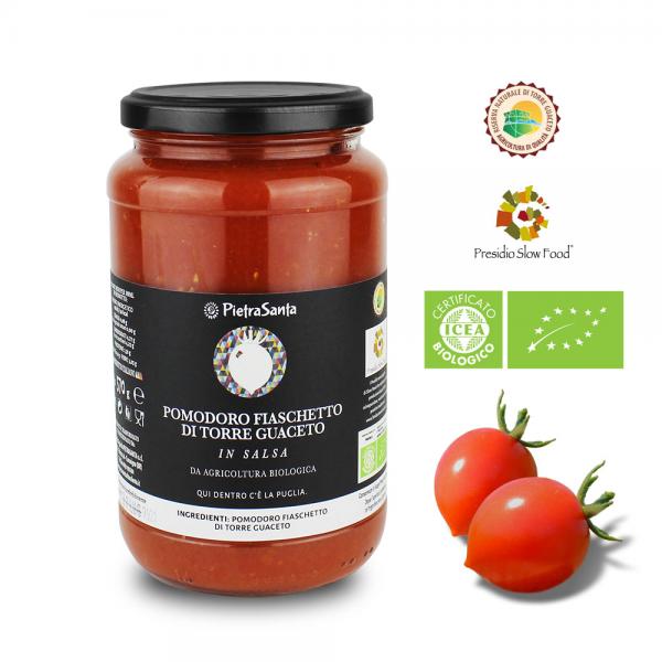Pomodoro Fiaschetto di Torre Guaceto in salsa