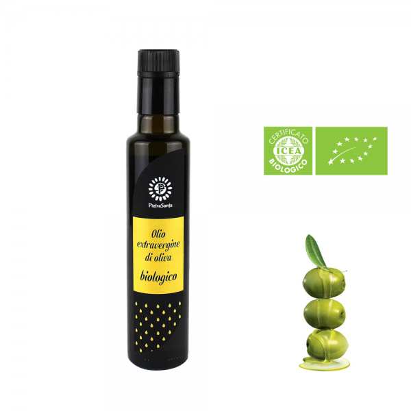 Huile d'olive extra vierge – bouteille 0,25 Lt