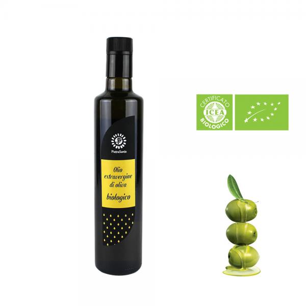 Biological iExtra virgin olive oil - 0.50 Litre-Bottle