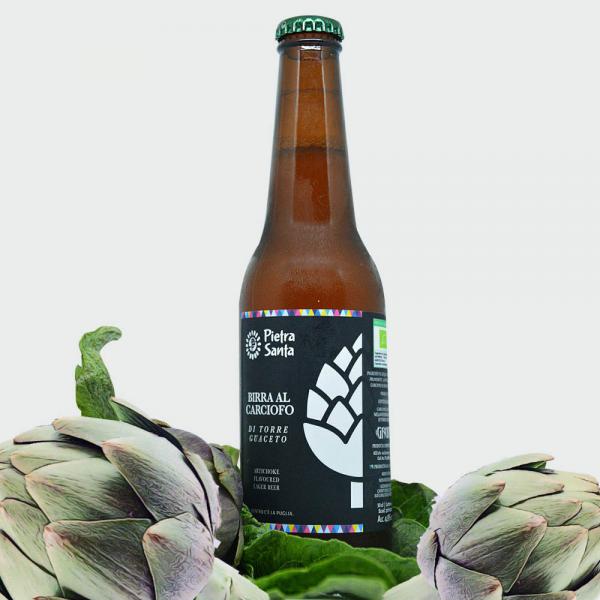 Birra Bio al Carciofo Brindisino