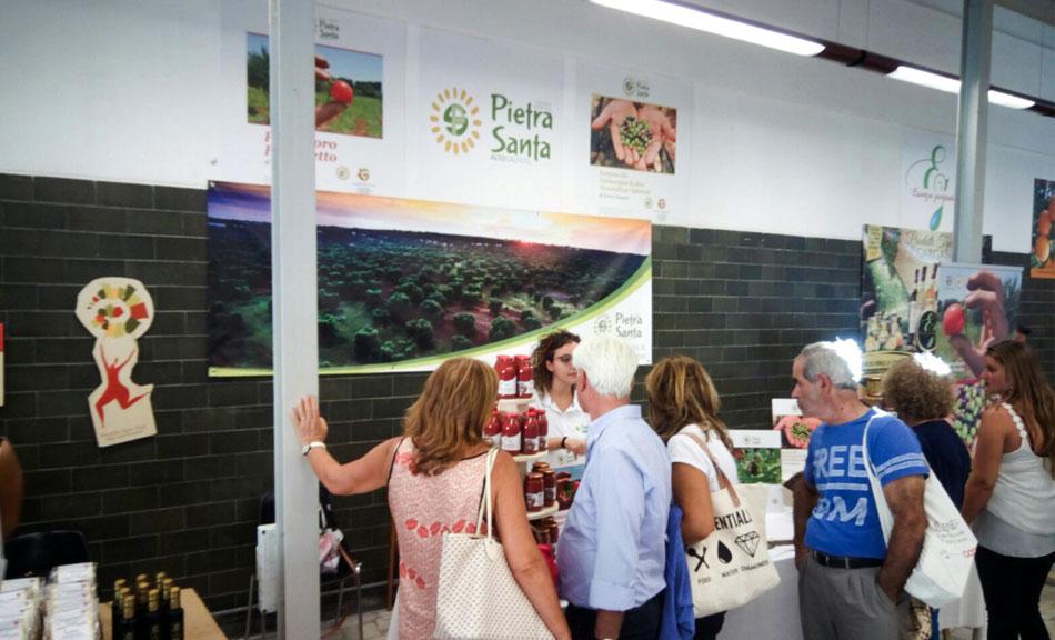 Il Pomodoro Fiaschetto di Torre Guaceto e l'Evo monocultivar di Ogliarola Karpene protagonisti della Fiera del Levante