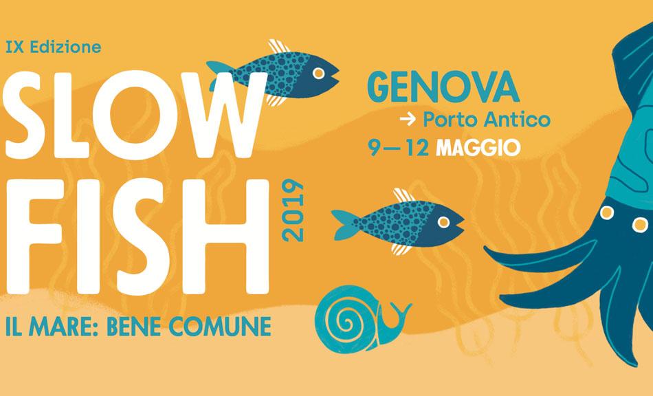 I nostri prodotti presenti a Slow Fish 2019 a Genova