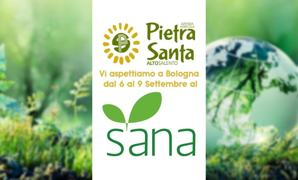Azienda Agricola Pietrasanta sarà presente al SANA di Bologna dal 6 al 9 Settembre 2019