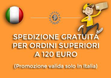SPEDIZIONE GRATUITA PER ORDINI SUPERIORI A 60 EURO, ONLY ITALY